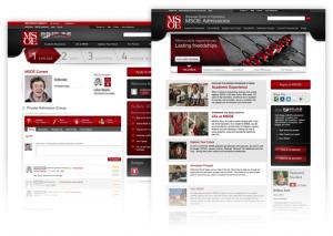Milwaukee School of Engineering's Admissions homepage