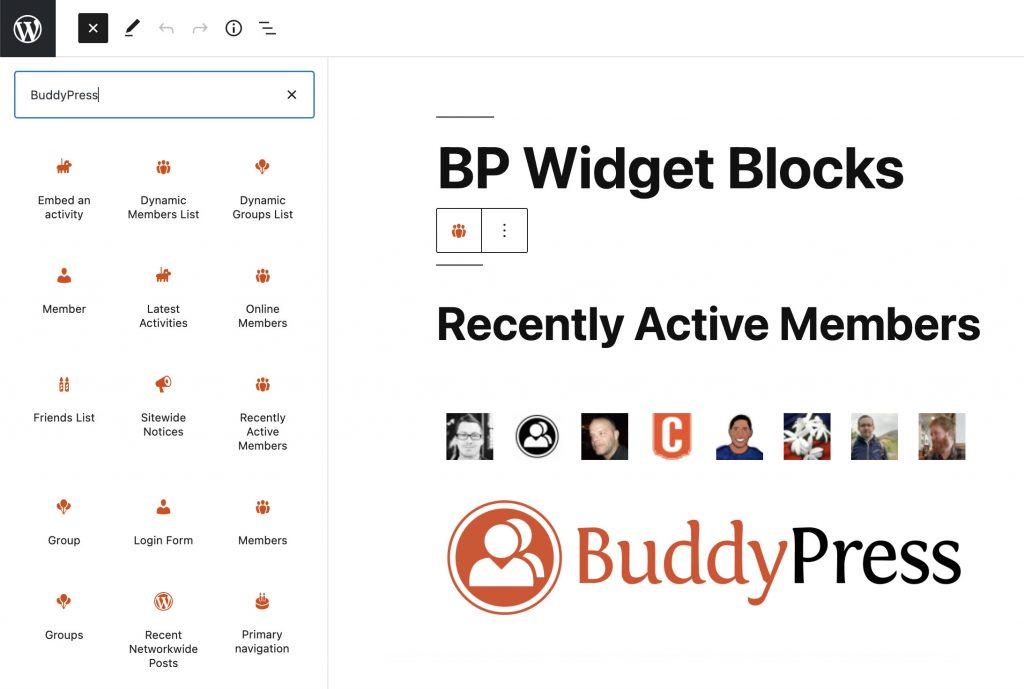 Illustration showing BP Blocks collection.