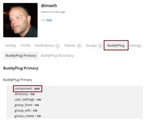 Loading Javascript for member's profile.